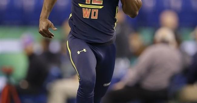 Washington receiver John Ross breaks NFL combine's 40 record