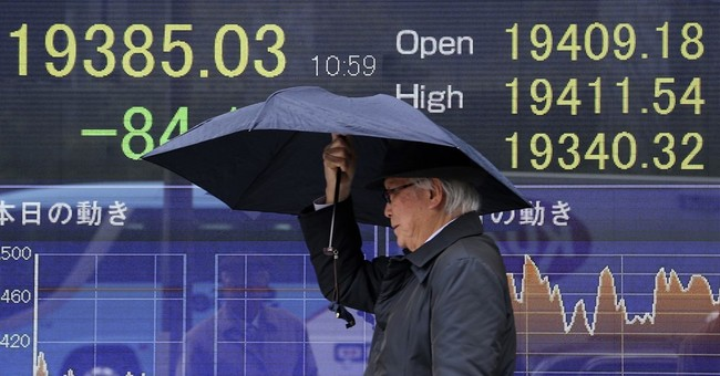 Global stocks mostly lower after NKorea launches missiles