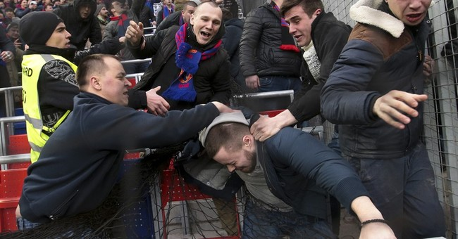 Russian lawmaker aims to make football hooliganism a sport