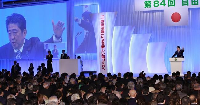 Rule change could make Abe longest-serving leader in Japan