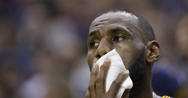 'Real men cry': LeBron James says he cries at some movies