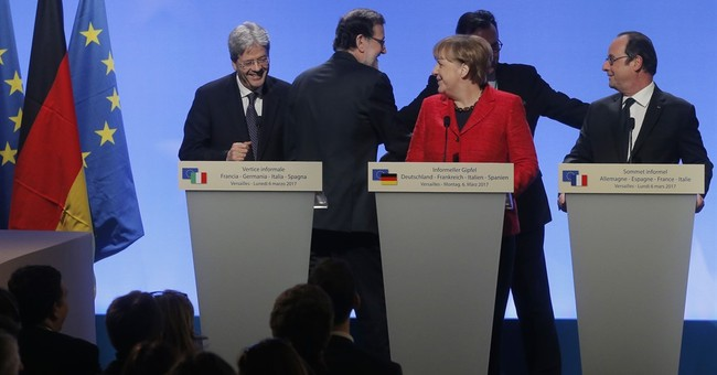 France, Germany, Spain, Italy call for a multi-speed Europe
