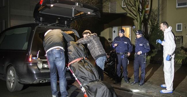 German city keeps kids inside amid hunt for killing suspect