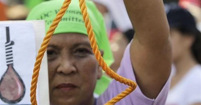 Philippine House OKs restoring death penalty for drug cases