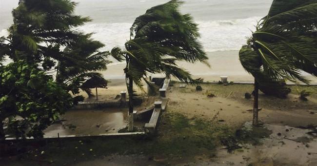 Madagascar lashed by rain, wind from Cyclone Enawo