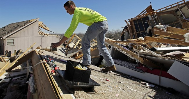 Latest: Kansas airport damage caused by straight-line winds