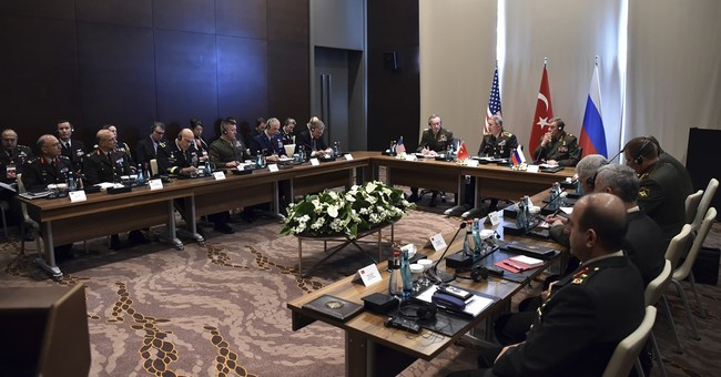Turkish, US, Russian military chiefs discuss Syria tensions