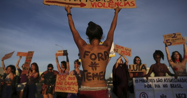 Brazil's Temer irks women with praise for supermarket skills