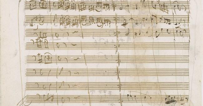 Mozart manuscript fails to sell; $200,000 bid was expected