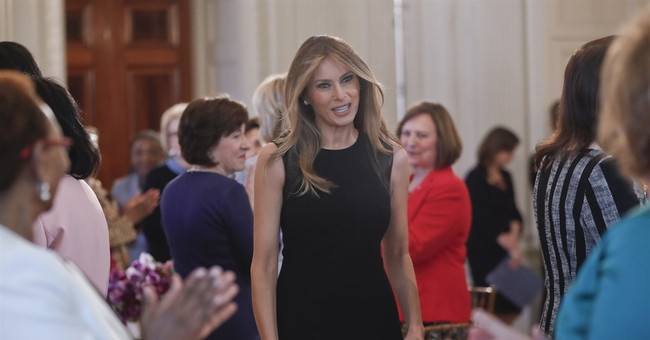 First lady hosts International Women's Day luncheon