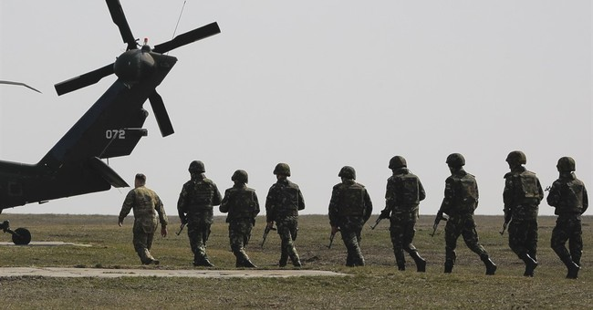 Romanian, US troops train together in NATO support operation