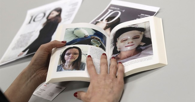 Scarred survivors inspire Italy to fight domestic violence