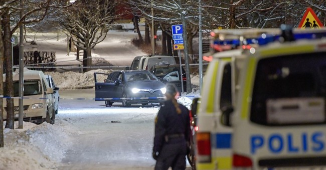 2 shot dead in Stockholm suburb known for feuding gangs