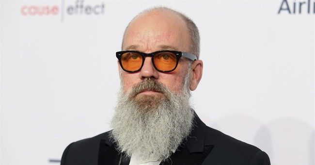 Bearded Michael Stipe finds doppelganger in David Letterman