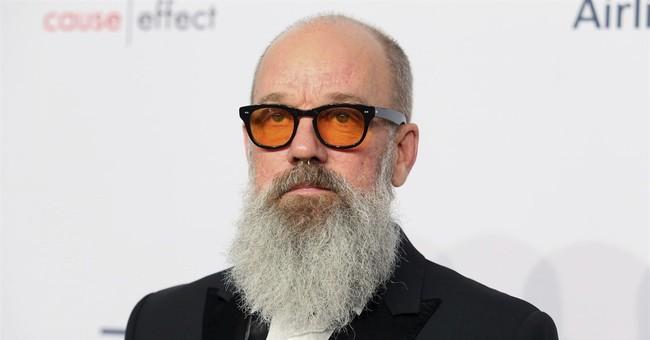 Bearded Michael Stipe finds doppelganger in David Letterman