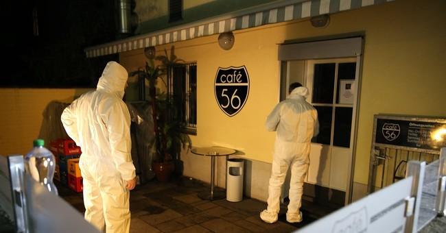 Gunmen kill 2 people at Swiss cafe before fleeing