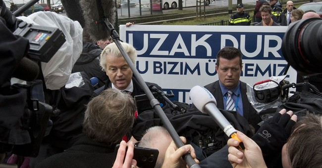 The Latest: Dutch PM tells Turkey minister: 'Don't show up!'