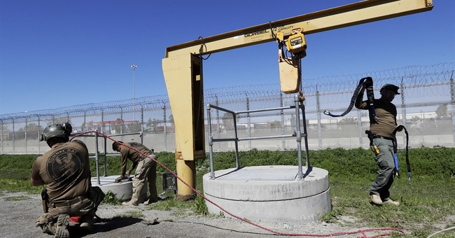 Border Patrol 'tunnel rats' plug underground passages