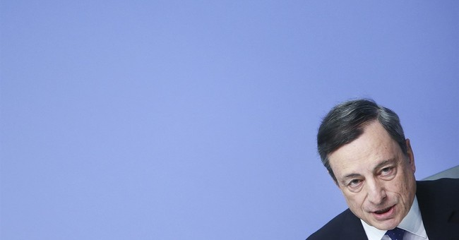 European Central Bank: Global politics now the bigger risk