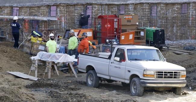 Construction unearths centuries-old coffins in Philadelphia