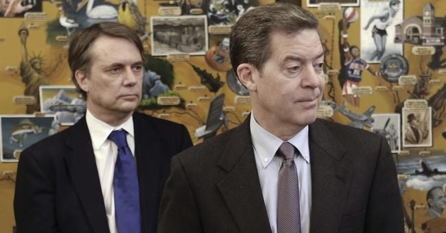 Kansas governor's clout wanes amid talk he may take new job