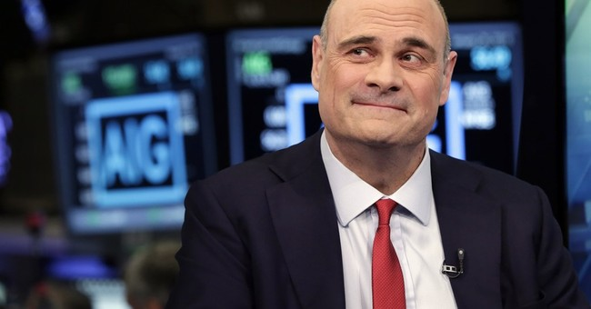 Man picked to fix AIG will step down after massive loss