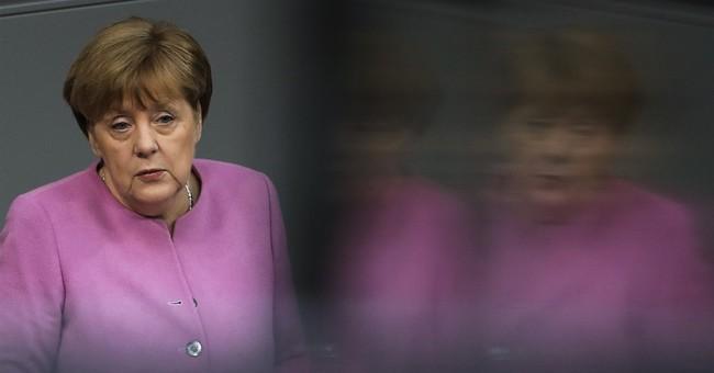 Merkel says Europe needs to take on more responsibility