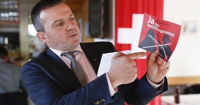 Swiss parliament's upper house rejects bill to ban burqas