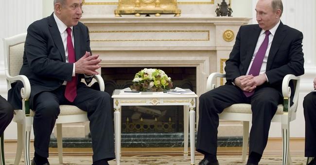 Putin hosts Netanyahu for talks set to focus on Syria