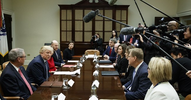 The Latest: Trump says health bill is 'coming along great'
