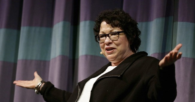Justice Sotomayor laments perception of judges as political