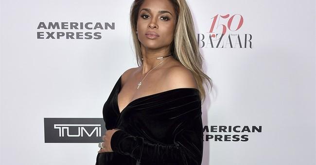 Pregnant Ciara uninjured in minor Los Angeles car crash