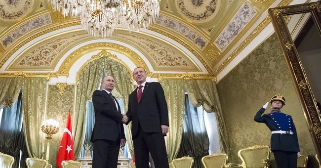 Putin hails Russia-Turkey ties as he hosts Syria talks