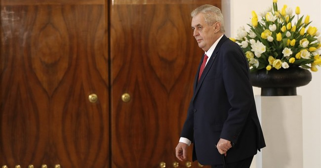 Czech president wants to get re-elected without campaign