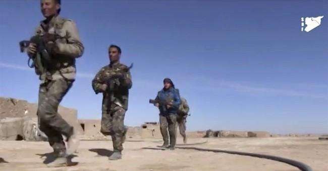 AP EXPLAINS: Kurdish-led force likely to capture IS' Raqqa