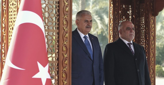 Turkish PM visits Iraq amid spat over unauthorized troops