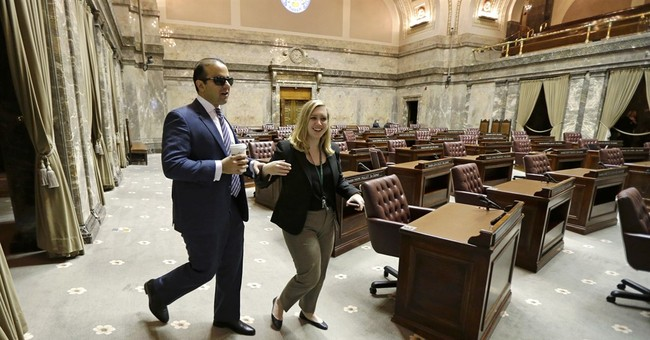 Washington set to swear in 1st blind lieutenant governor