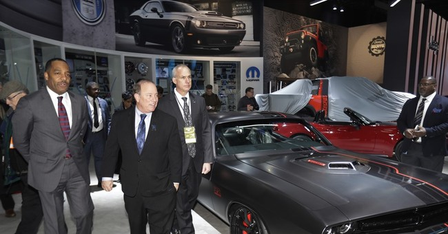 Detroit auto show: Google, Camry and the shadow of Trump