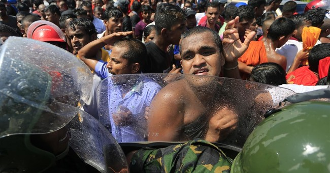 21 injured in clashes in Sri Lanka over China port deal