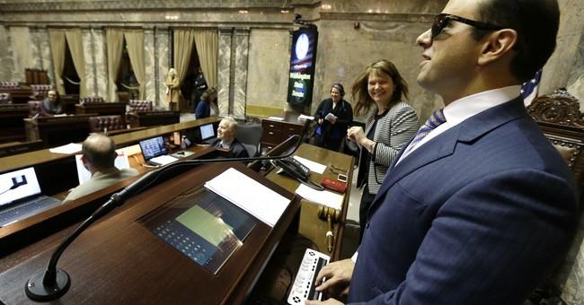 Washington set to swear in 1st blind lieutenant governor