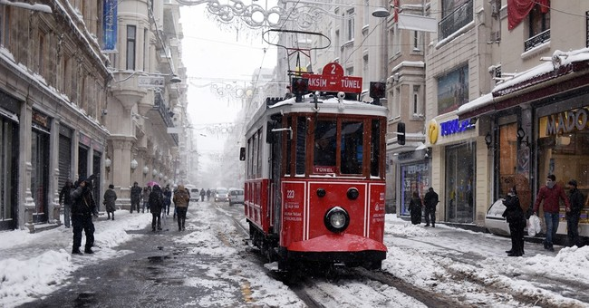 Heavy snow, icy weather grip Italy, Greece and Turkey