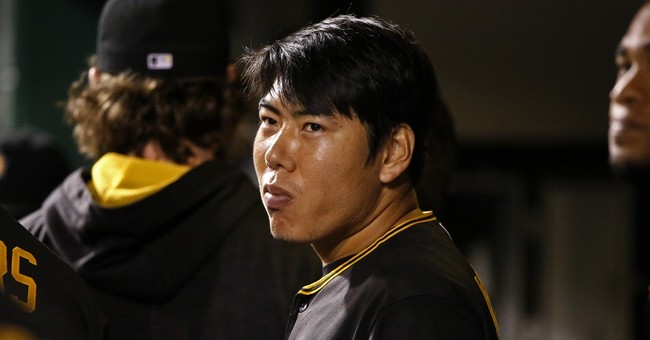 Pirates' Kang on restricted list, delayed by US visa