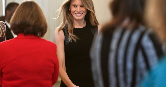 Melania Trump begins to embrace new role as first lady