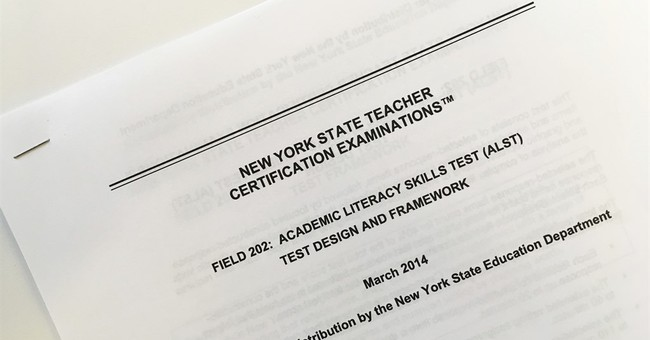 Test meant to screen teachers instead weeded out minorities