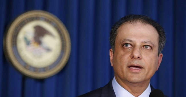Now-fired Preet Bharara boasts of 'absolute independence'