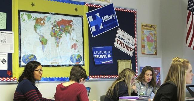 Teaching Trump: Should teachers offer up their own politics?