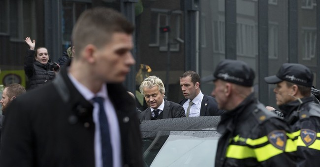 Anti-Islam Dutch lawmaker fans flames from security bubble