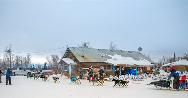 The Latest: Marrs takes over lead in Iditarod