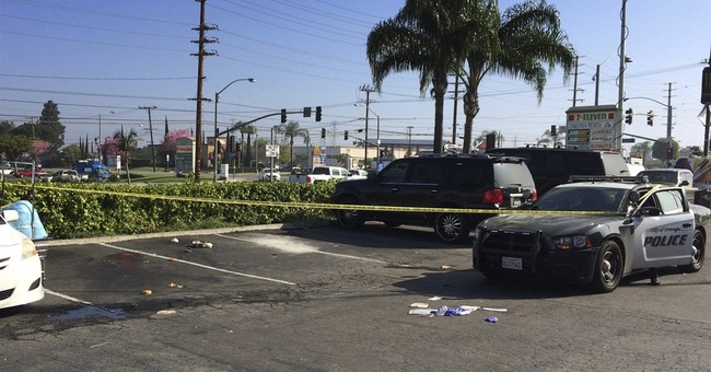 California police force man with knife out of van, kill him