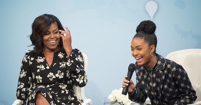 Michelle Obama writes college letter for 'Black-ish' star